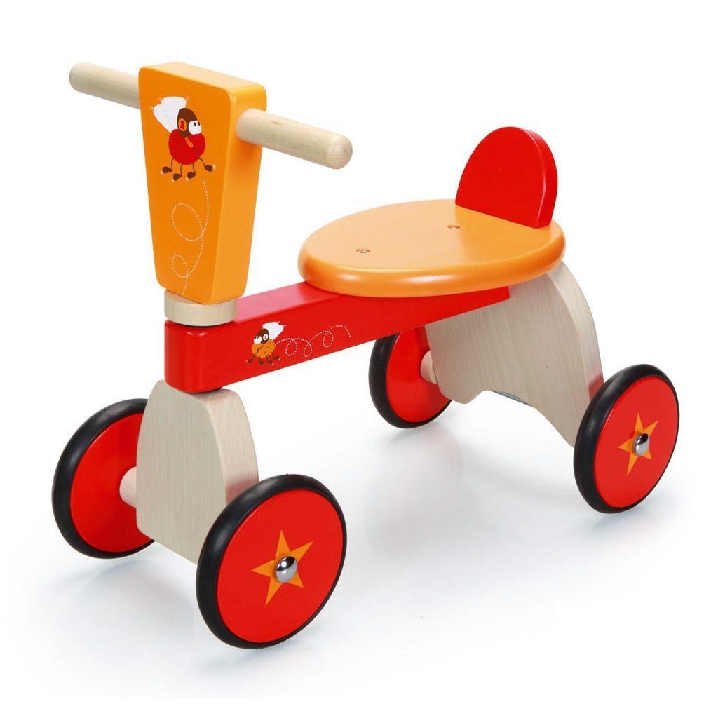 Racende Vliegen 4 Wielen Scratch Speelgoed scra-6181430