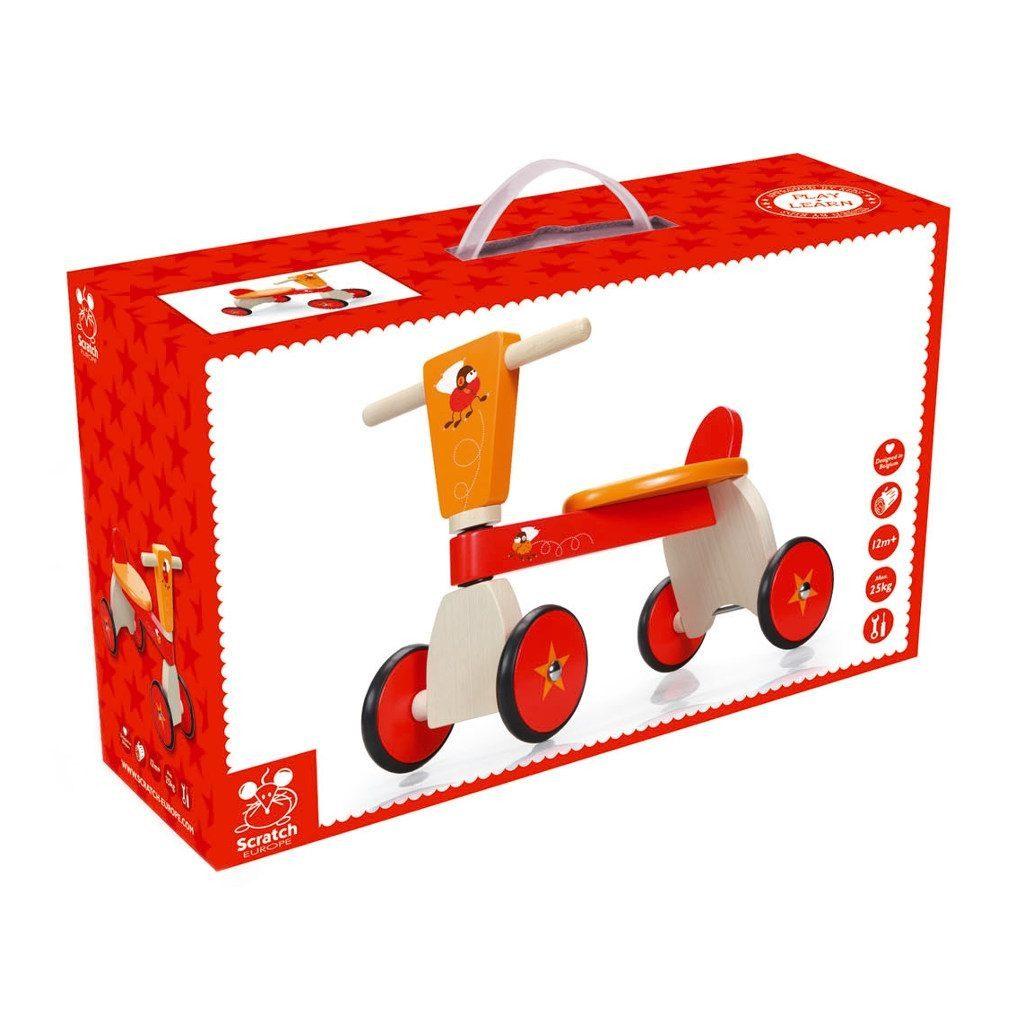 Racende Vliegen 4 Wielen Verpakking Scratch Speelgoed scra-6181430