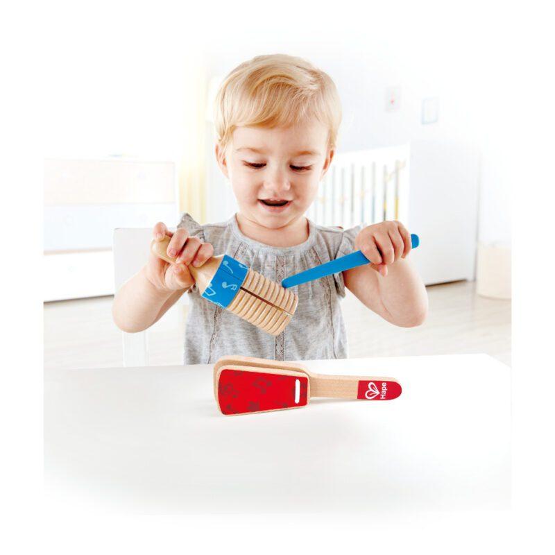 Hape Ritme Set Muziek Setje Hout Speelgoed QIDDIE.COM Hape-E0605 1024x1024