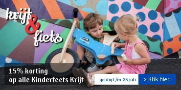 15% KORTING op alle Chalkboard Kinderfeets waar je op kan krijten. Profiteer snel!