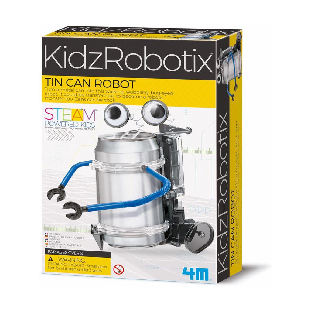 Robot Maken Blikje 4M 4M Speelgoed Ontdekken Knutselen Techniek QIDDIE.com 4msp-5603270 1024x1024
