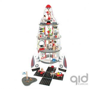 e3003-houten-speelgoed-voertuigen-raket-hape-raket-discovery-space-center-1