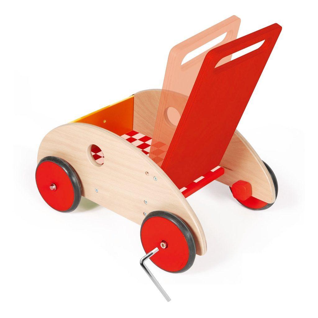 Scratch Loopwagen F1 Met Weerstand Scratch Speelgoed scra-6181413