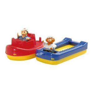 Sleepboot Binnenvaartschip Twee Poppetjes Aquaplay 227 aqua-227