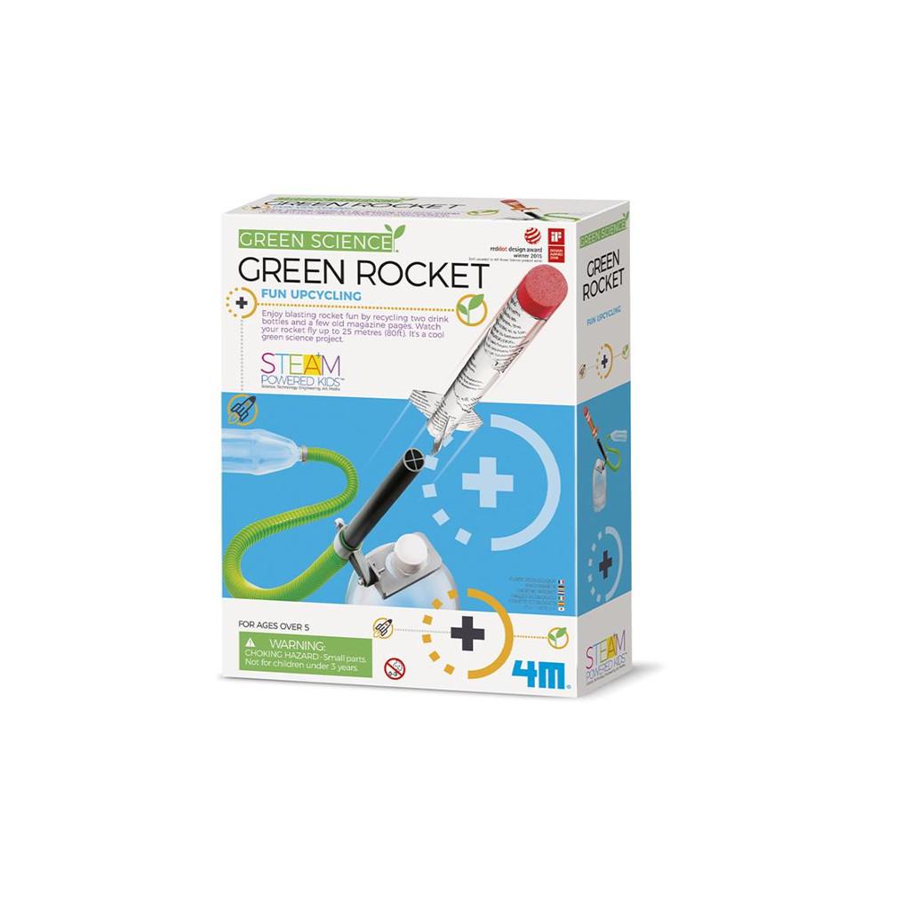 Groene Raket 4M 4M Speelgoed Ontdekken Green Rocket Green Science QIDDIE.com 4msp-5603298 1024x1024