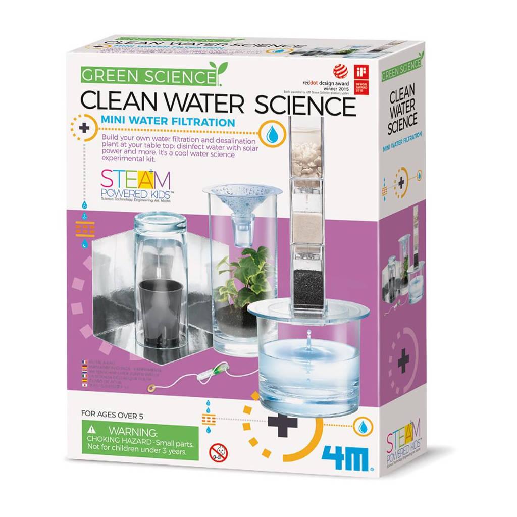 Water Zuiveren Proefjes 4M 4M Speelgoed Waterfilter Wetenschap Ontdekken QIDDIE.com 4msp-5603281 1024x1024