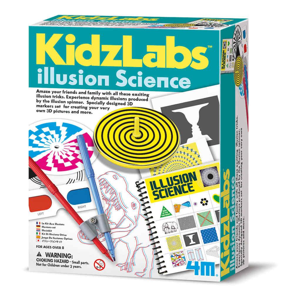 Illusie Wetenschap Pakket 4M Speelgoed 4msp-5603256