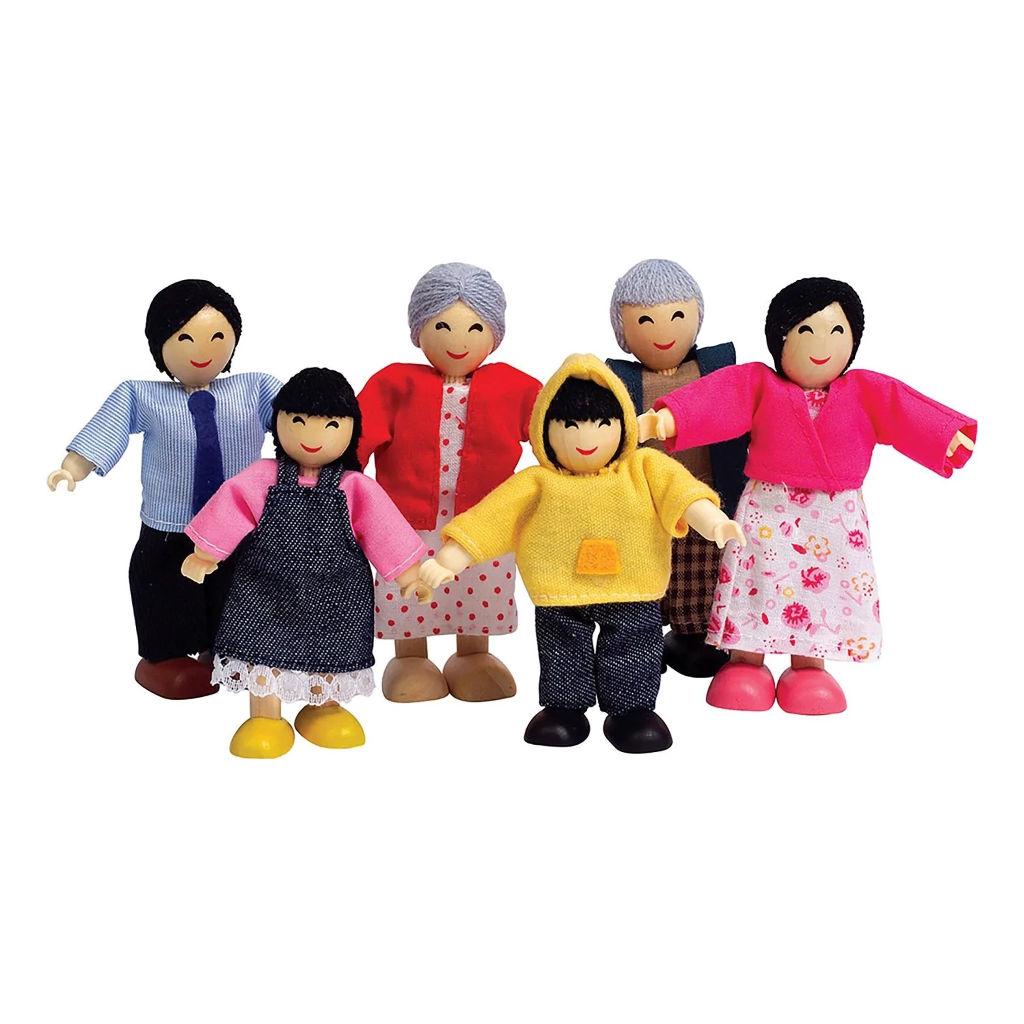 Aziatische Familie Hape Speelgoed hape-e3502 1 1024x1024