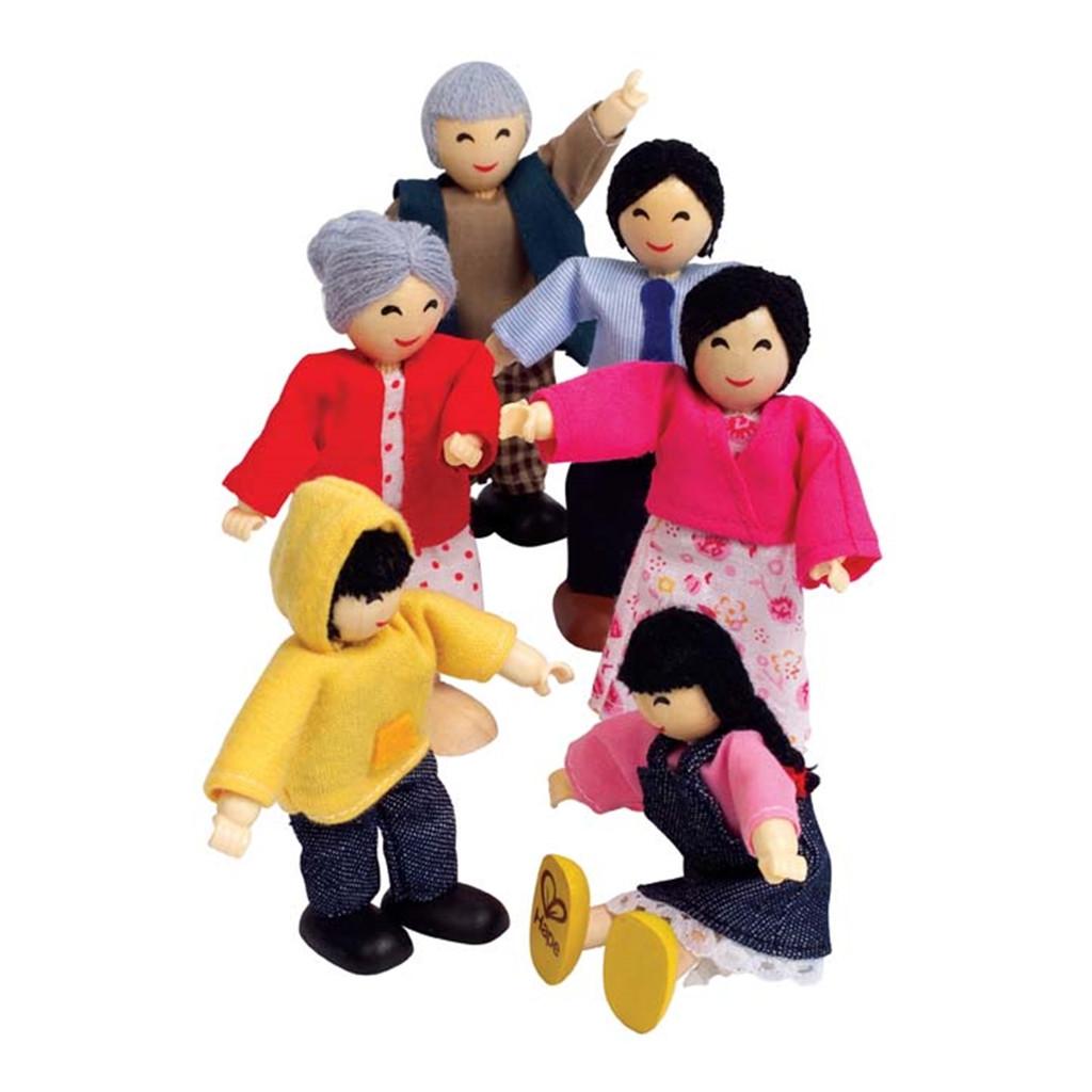 Aziatische Familie Hape Speelgoed hape-e3502 2 1024x1024