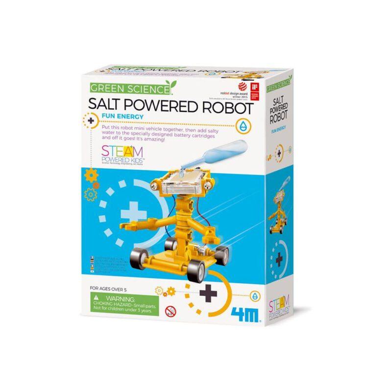 Zoutwater Robot Maken 4M 4M Speelgoed Ontdekken Wetenschap Natuurkunde QIDDIE.com 4msp-5603353 1024x1024