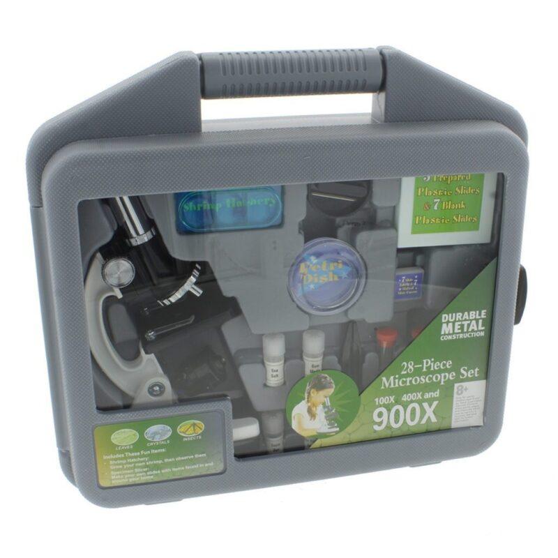 Byomic Junior Microscoopset 100X 400X 900X Doos Verpakking Byomic Byom 260509 1024X1024