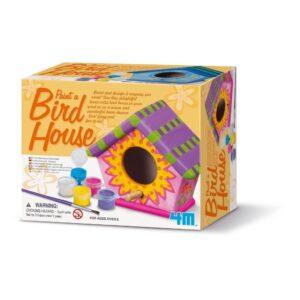 Vogelhuisje Schilderen Verpakking 4M Speelgoed 4msp-5604552
