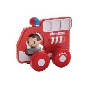 Brandweer Autootje Plan Toys Plan Toys Plan-4005687