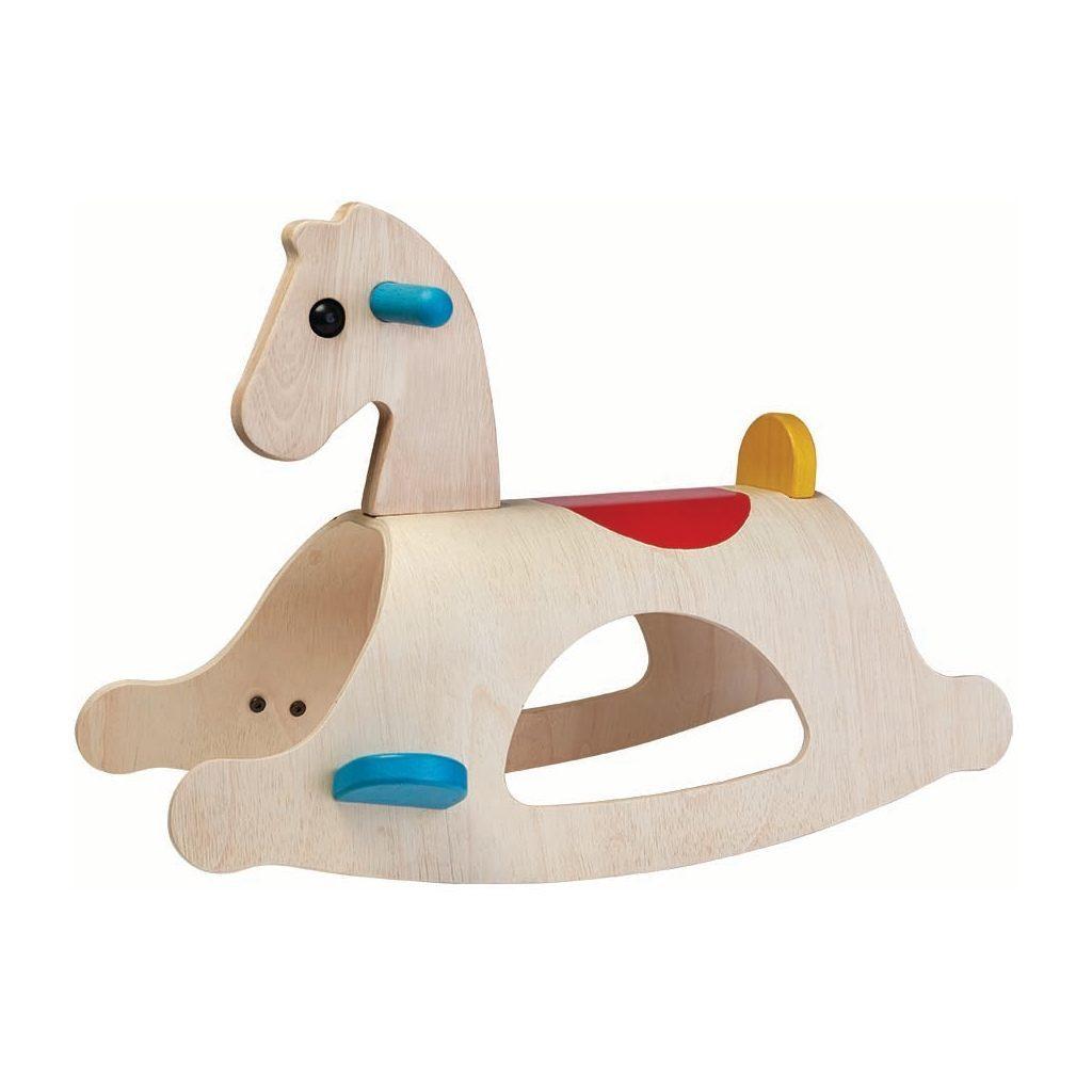 Palomino Hobbelpaard Plan Toys Plan Toys Plan-4003403