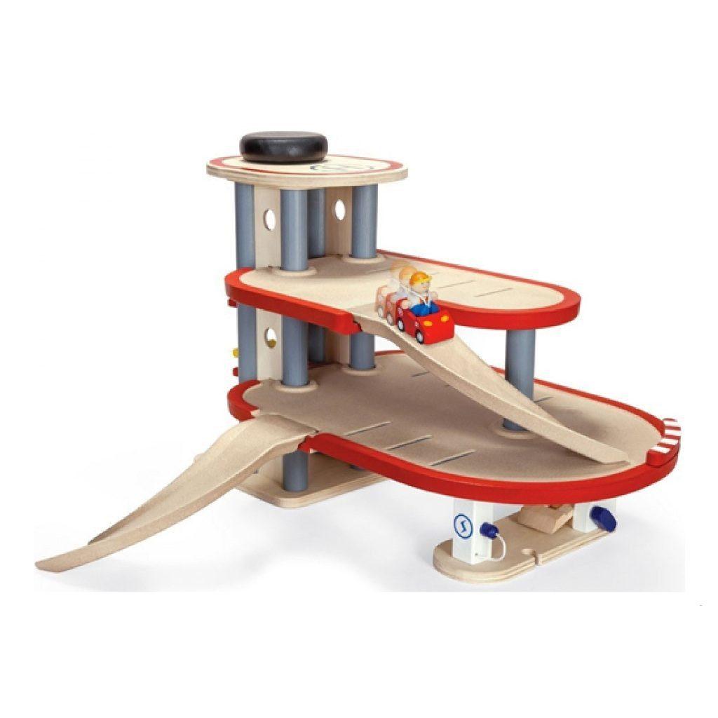 Plan Toys Garage 6611 Andere Zijde Plan Toys Plan-4006611