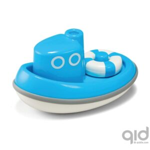Drijvende Boot Blauw