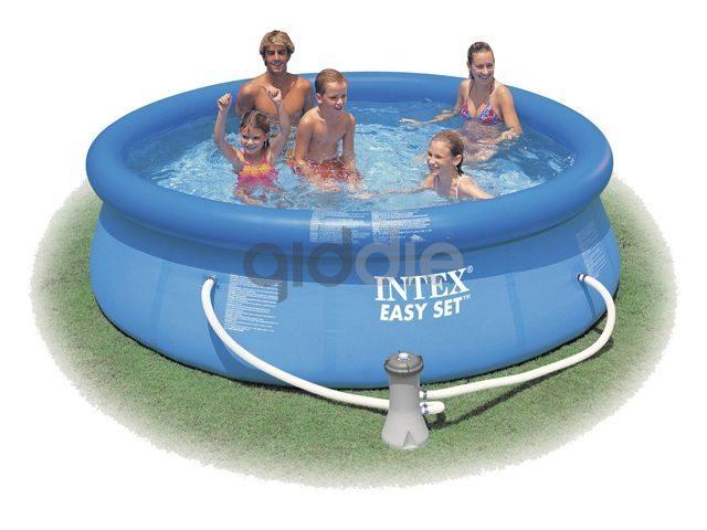 intex easy set pool 244x76 cm kopen qid zand en water. Black Bedroom Furniture Sets. Home Design Ideas