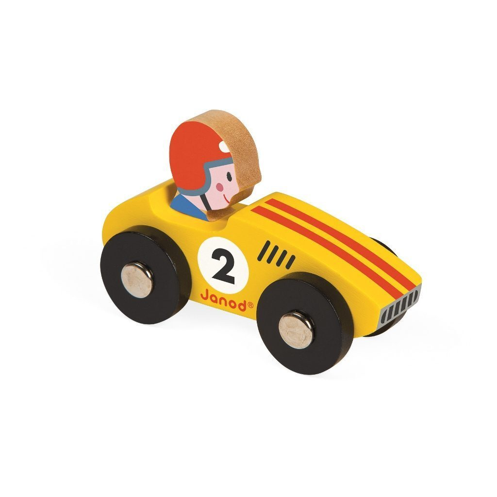 Racer Geel Story Janod jano-08548-gl