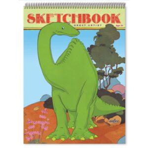 Schetsblok Dino Eeboo Craft