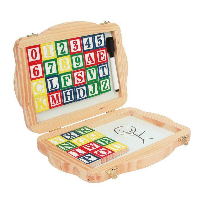 Box Bord En Magnetische Letters