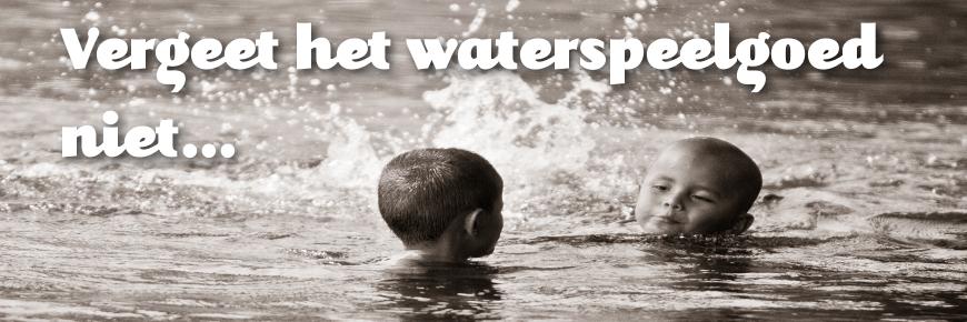 Waterspeelgoed