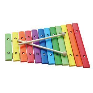 Xylofoon 12 Toons Gekleurd