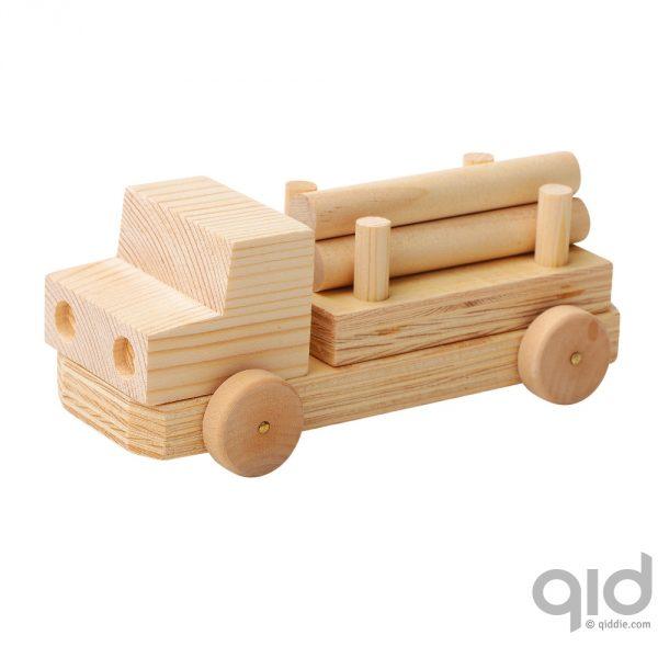 Houten vrachtwagen maken kopen qiddie for Houten vijverbak maken