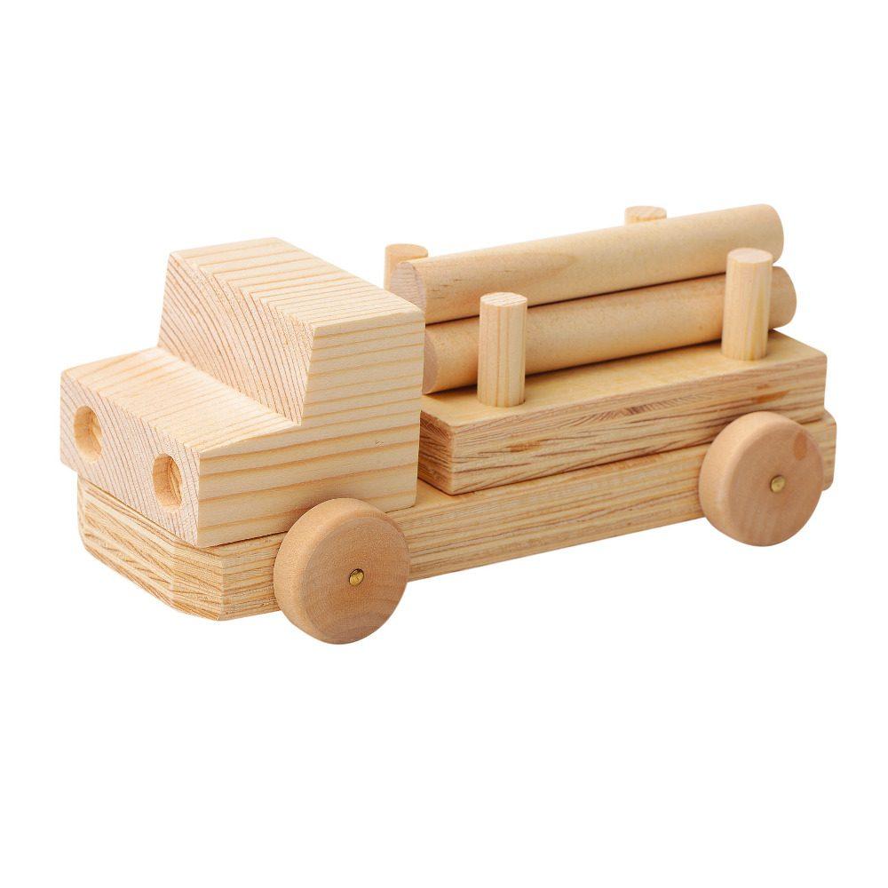 Houten Vrachtwagen Maken