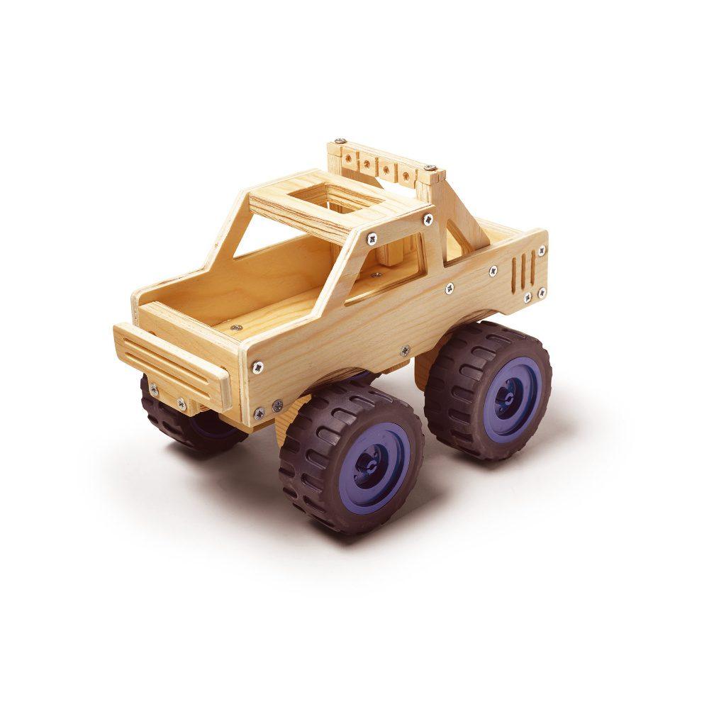 Houten Monster Truck Maken