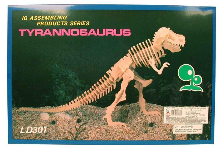 Constructie Kit 3D Grote Tyrannosaurus