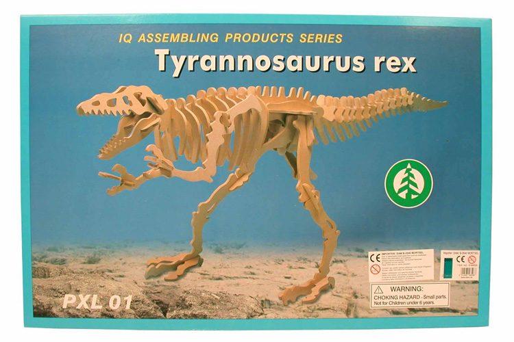 T-Rex Skelet Puzzel
