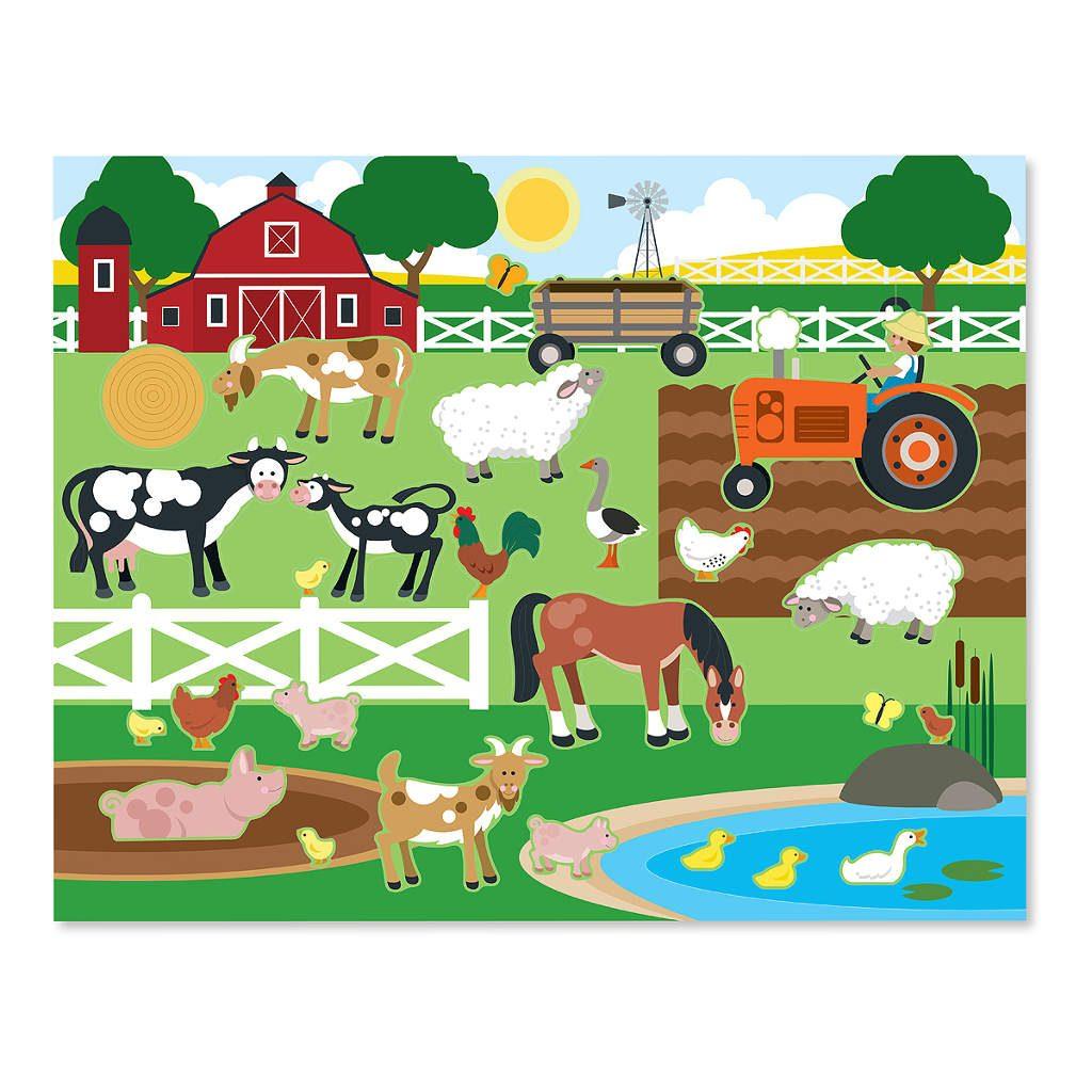 boerderij-herplakbare-stickerboek-inhoud-5-vellen-150-stickers-melissa-and-doug-meli-14196