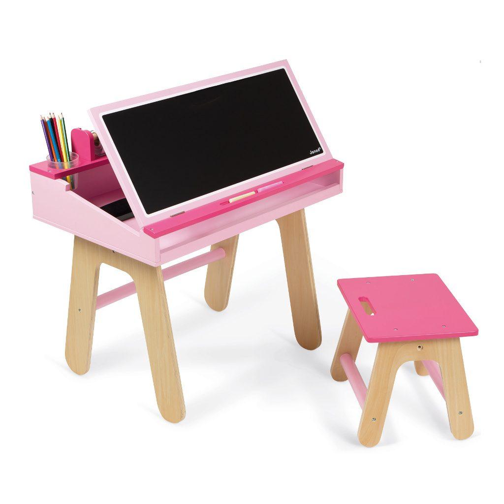 bureauset-roze-janod-tekentafel-knutsel-tafel-krijtbord-jano-11-9618
