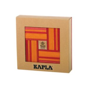 Combi Boekje 40 Rode Oranje Plankjes