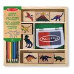 dino-houten-stempelset-dinosaurus-14-stuks-stempelkussen-potloden-melissa-and-doug-meli-11633