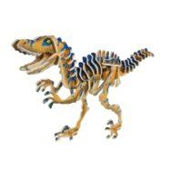 Velociraptor 3D Model Constructie Kit