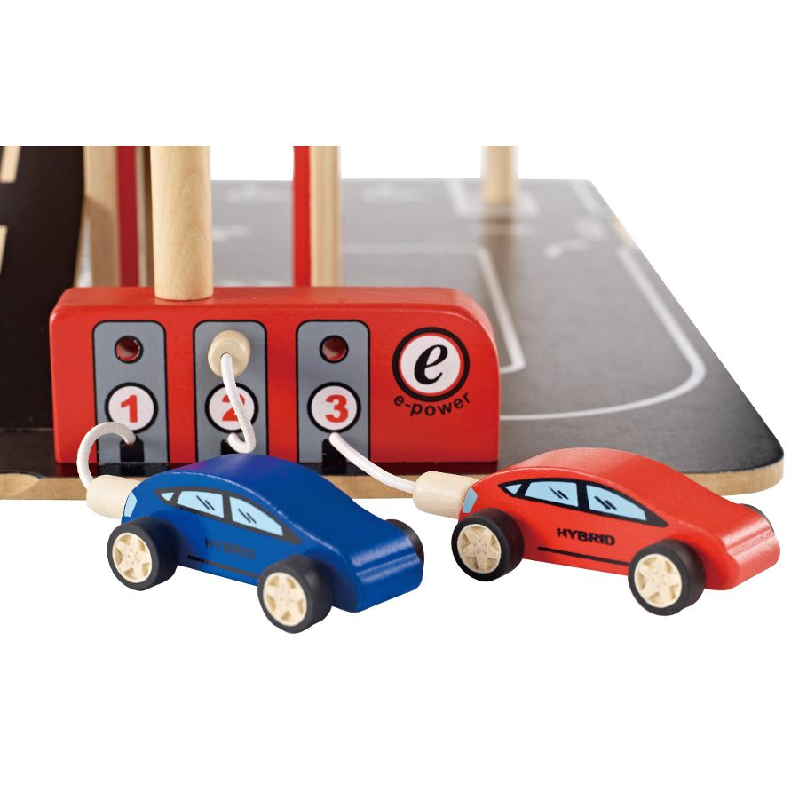 Hape Park And Go Garage