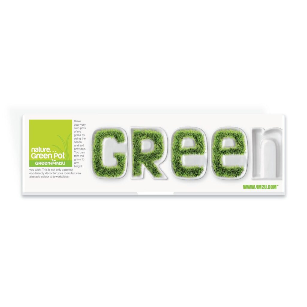 Gras Groeien Porselein Green