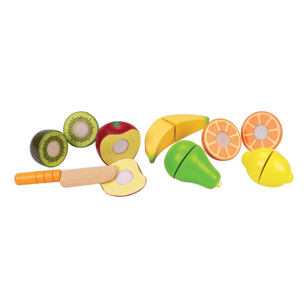 Houten Snijset Fruit Hape