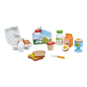 Houten Ontbijtset Lelin Toys