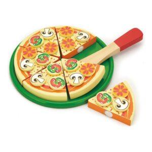 Houten Pizza Viga Toys