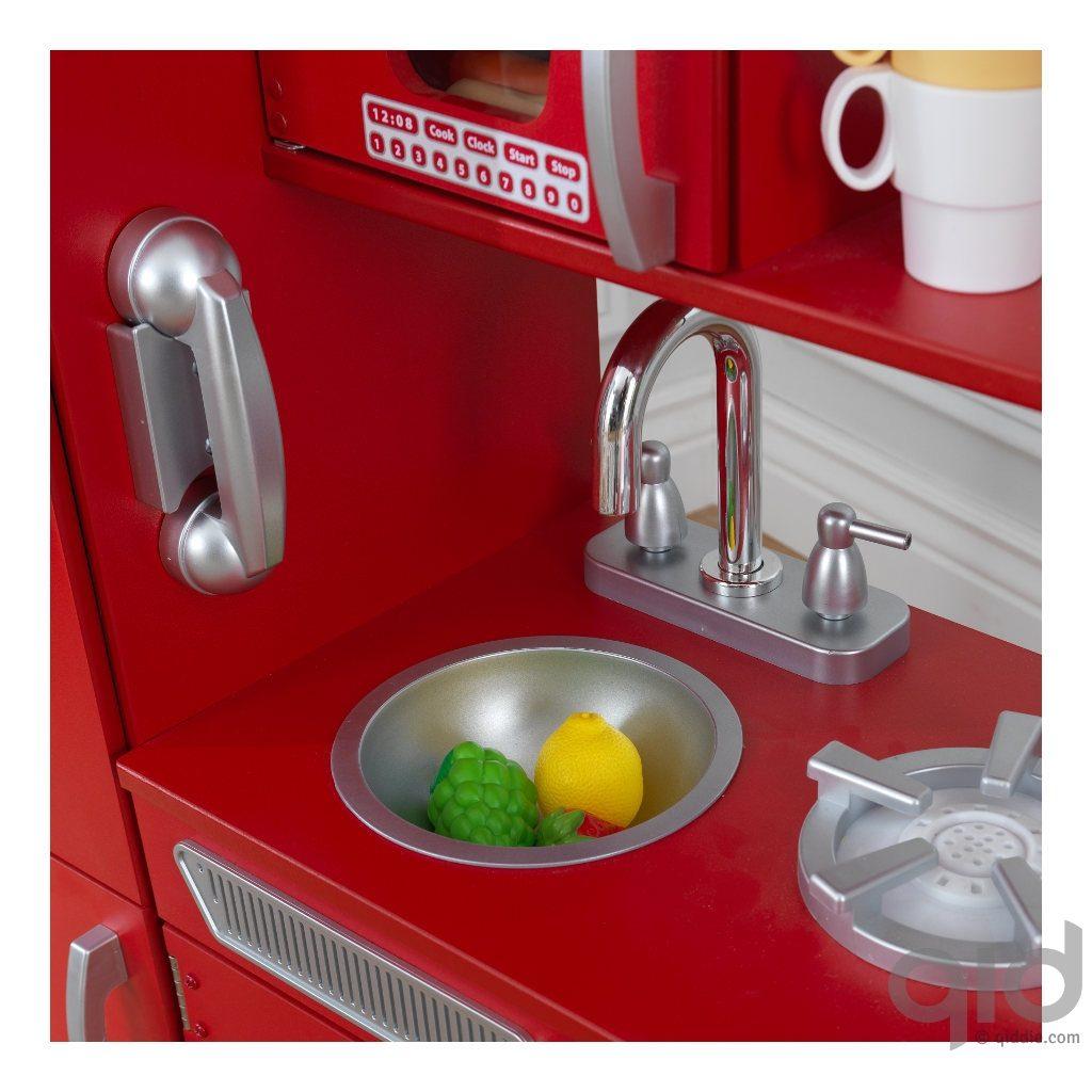 Kidkraft Rode Vintage Keuken kopen? ⋆ QIDDIE