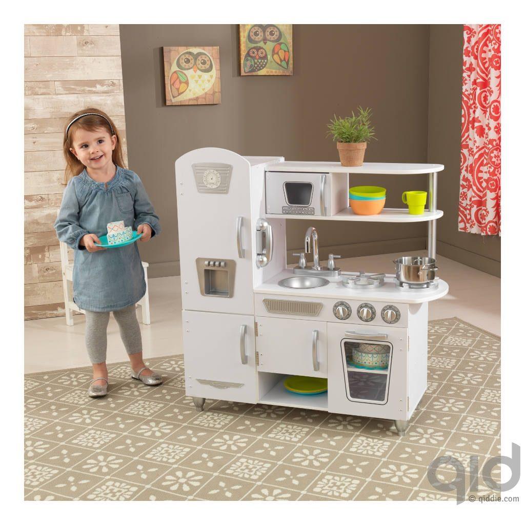 Kidkraft Keuken Wit : Kidkraft-Witte-Vintage-Keuken-Meisje-Met-Taart-Kidkraft-Kidk-53208