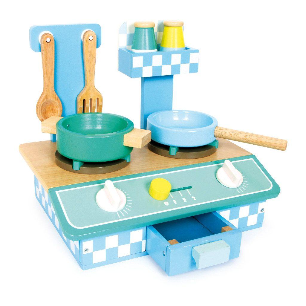 Klein Keukentje Blauw