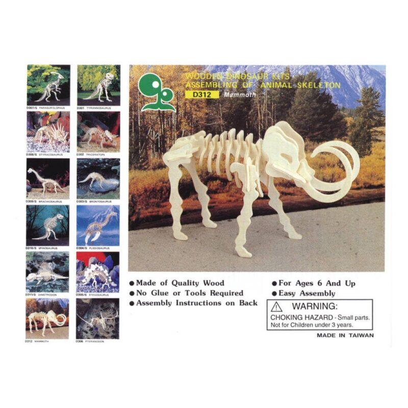 Mammoet Naturel Constructie Kit 3D
