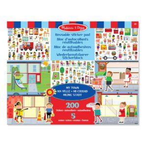 mijn-stad-herplakbare-stickerboek-5-vellen-200-stickers-brandweer-speeltuin-boodschappen-melissa-and-doug-meli-19114