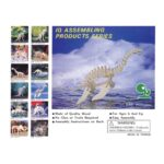 Plesiosaurus Naturel Constructie Kit 3D
