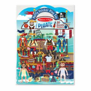 Puffy Piraten Herplakbare Stickerboek Bedrukte Stickers Dikke Sticker Melissa And Doug Meli-19102