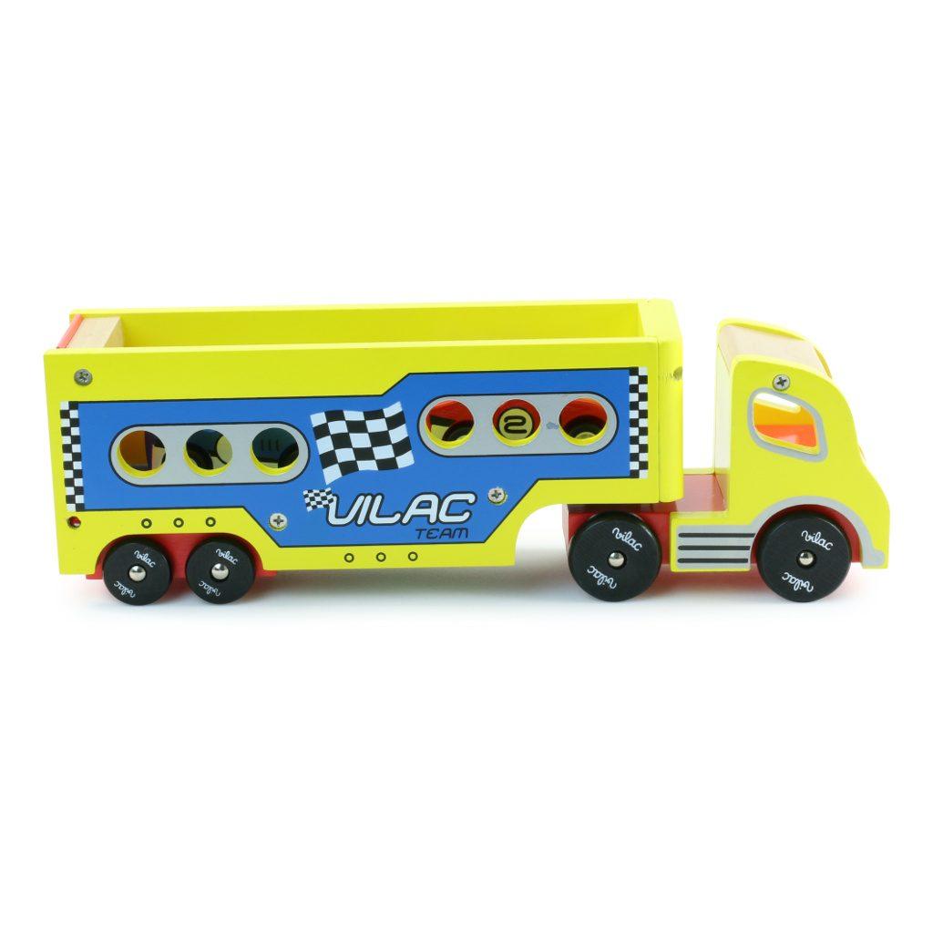 Pull-Back Raceauto'S Met Vrachtwagen