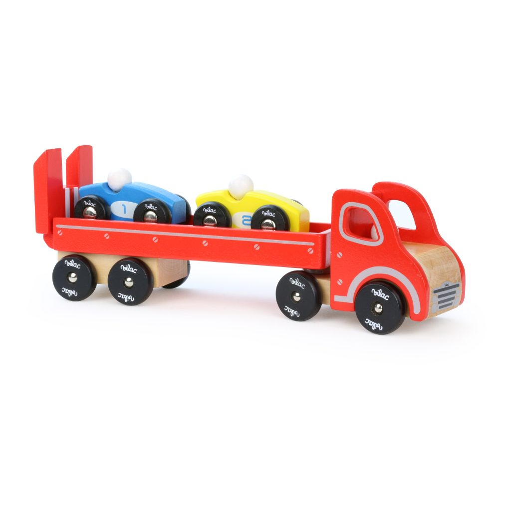 Raceauto'S Met Vrachtwagen